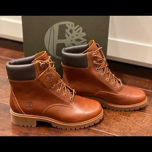 "NEW Timberland Jayne 6"" Waterproof Leather Boots"